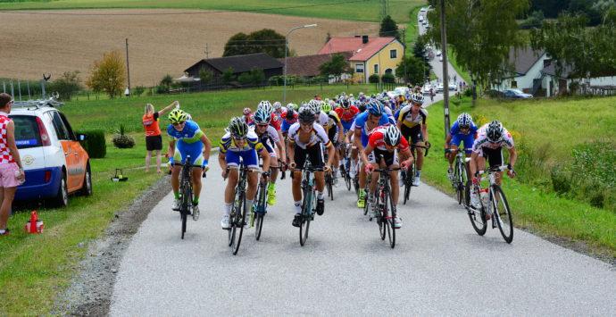 Dabei sein: Am 6. 8. 2016 war es soweit – die 3. Etappe der Jugendradtour startete in Miesenbach!