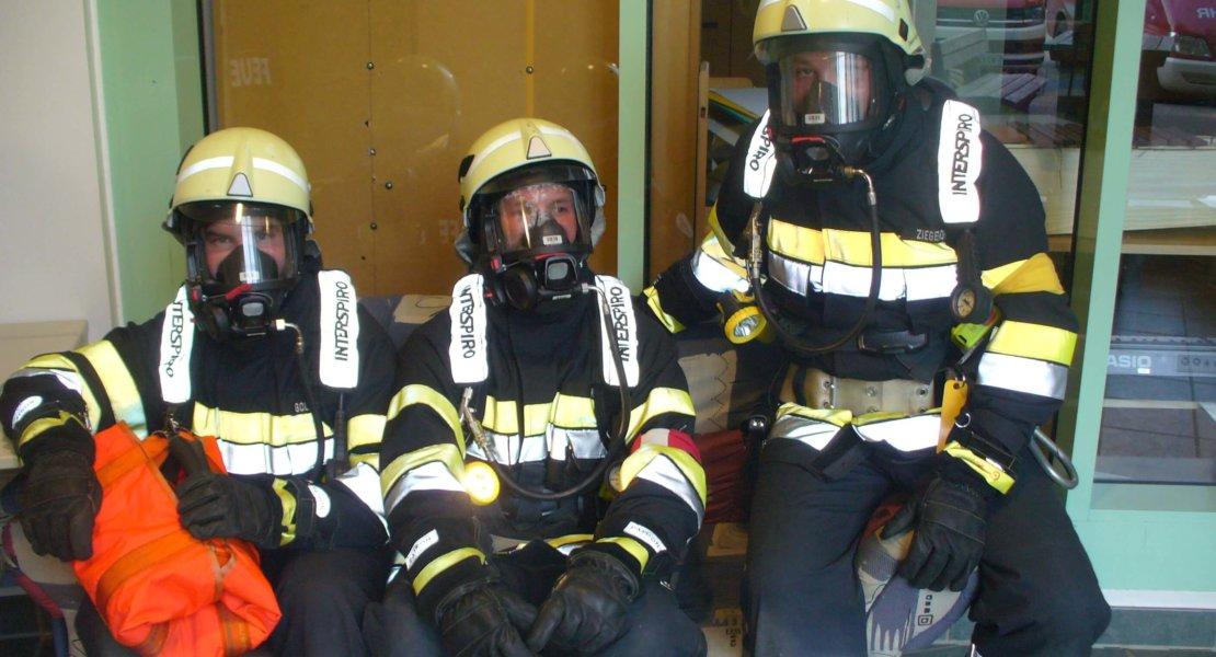 Atemschutzleistungsprüfung in Sinabelkirchen