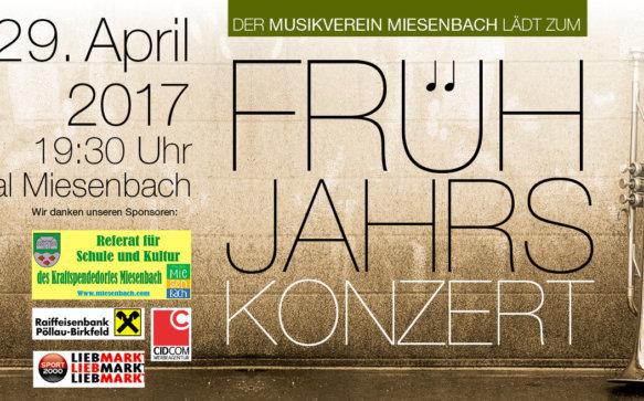 Frühlingskonzert 2017 Musikverein Miesenbach