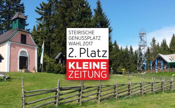 Genussplatz-Wahl 2017: Miesenbach gewinnt 2. Platz