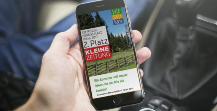 Gehört in jede Inbox: Die Miesenbach Post