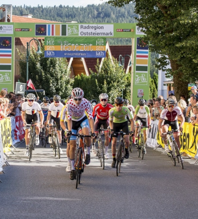 Am 25. 8. 2018 kommt die Radjugendtour nach Miesenbach!