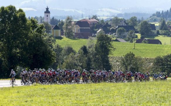 Am 26. 8. 2017 kommt die Radjugendtour nach Miesenbach!