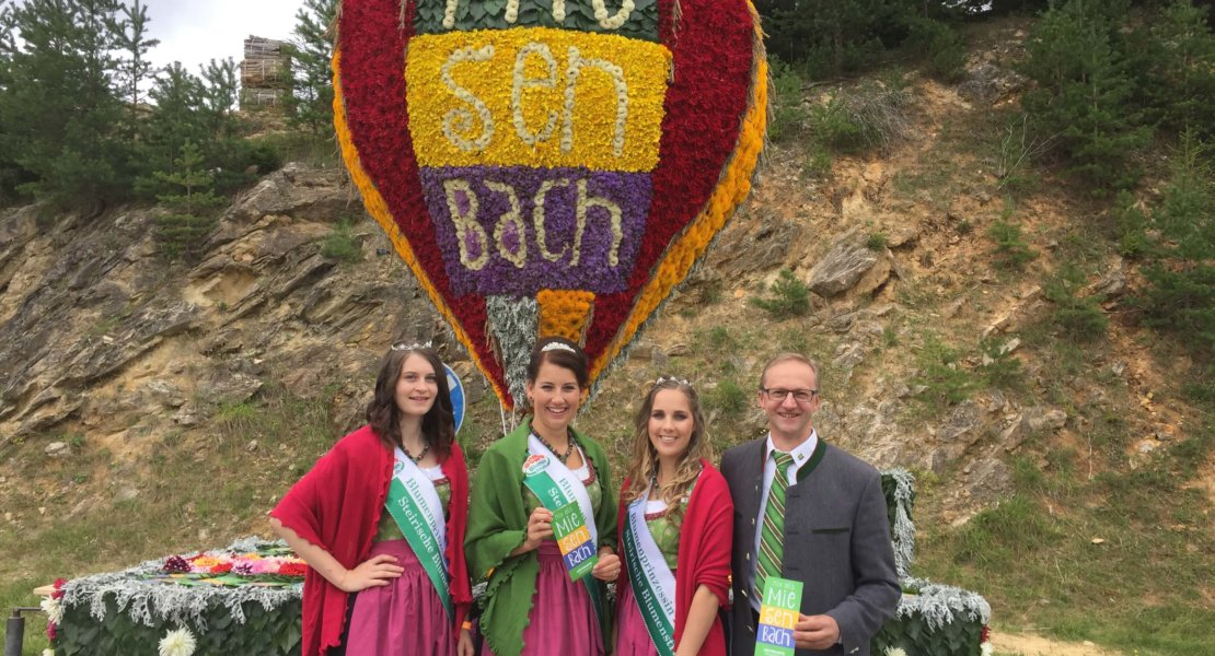 Blumenkorso 2017: Miesenbach hebt ab