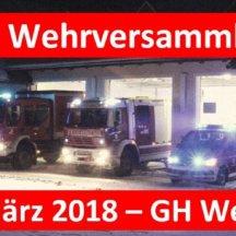 106. Wehrversammlung der FF Miesenbach