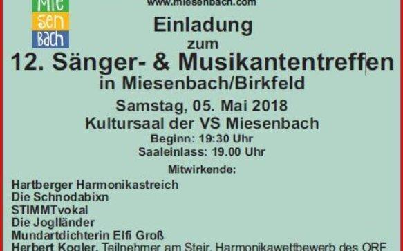 Sänger- und Musikantentreffen