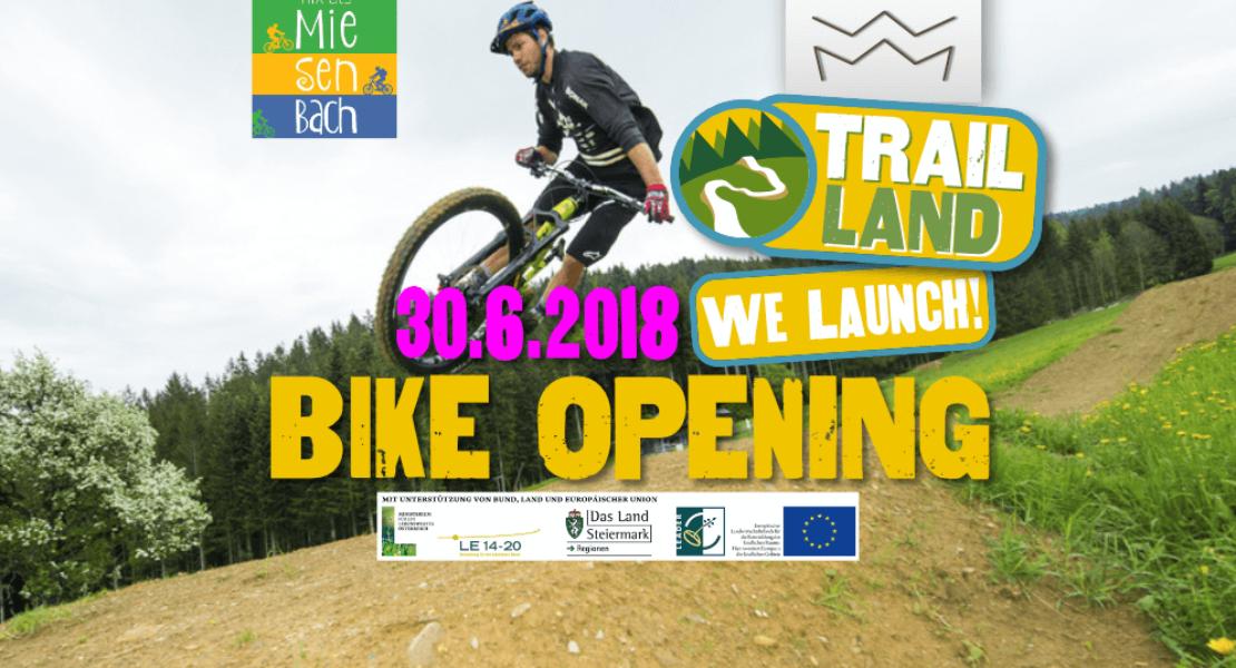 Das Trail Land Bike Opening 2018: