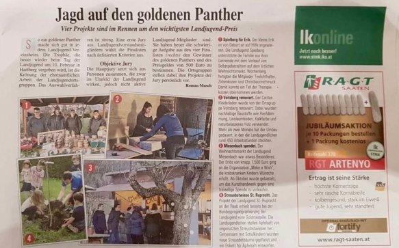 Die Landjugend auf Pantherjagd