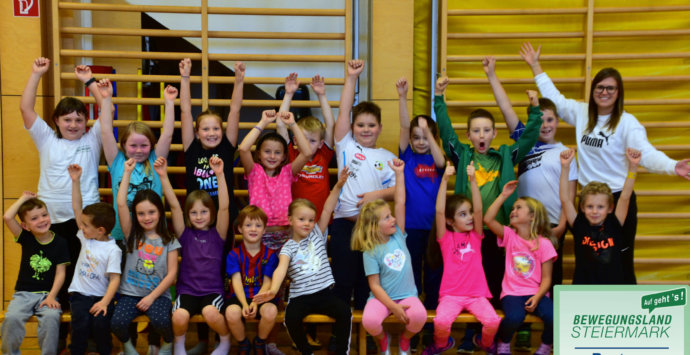 Fit statt dick –Kinderturnen im Winter