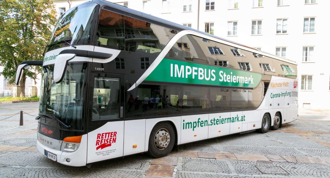 Der Impfbus macht am 9. Oktober auch in Miesenbach Halt