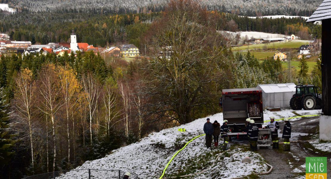 Mehrwehrenübung in Miesenbach