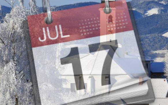 Unser Miesenbacher Gemeindekalender – stets aktuell