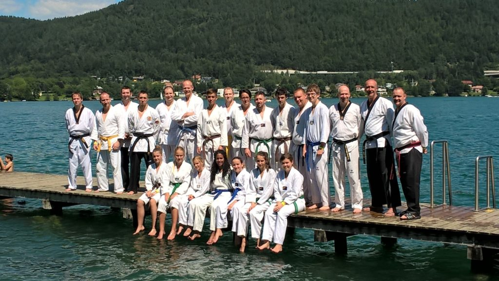 Tae Kwon Do Miesenbach Trainingslagergruppe Wörthersee