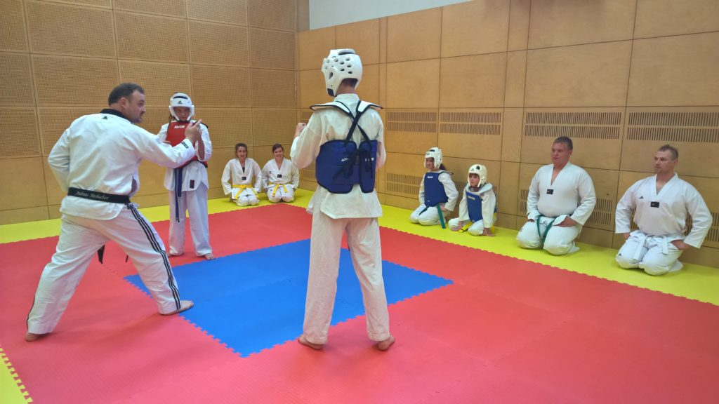 Tae Kwon Do Miesenbach Wettkampffläche